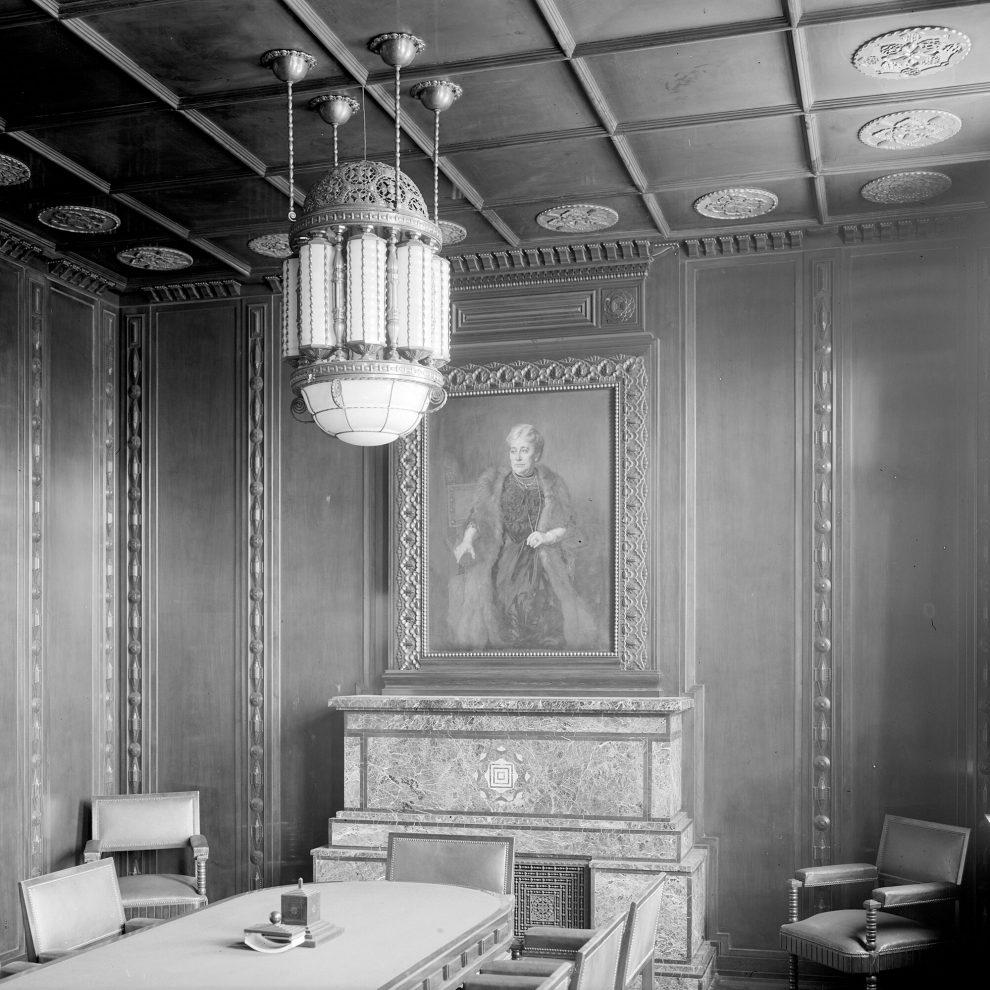 Ölportrait im Gasthaus