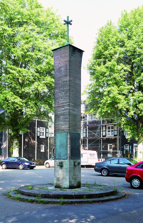 Stele für die Opfer der Weltkriegen