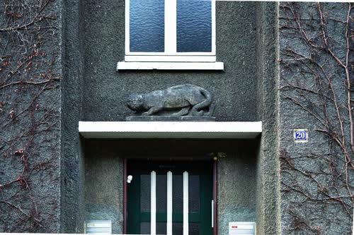 "Steinskulptur ""Katze"""