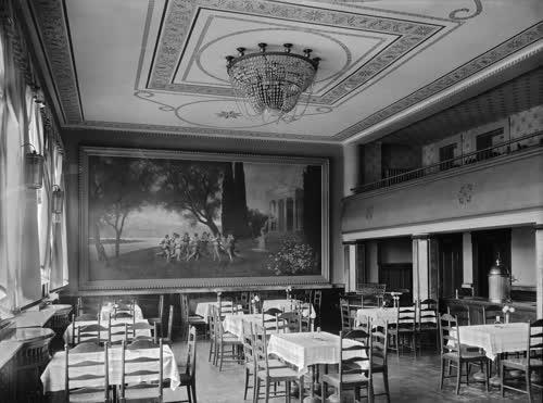 Wandgemälde im Festsaal des Gasthauses
