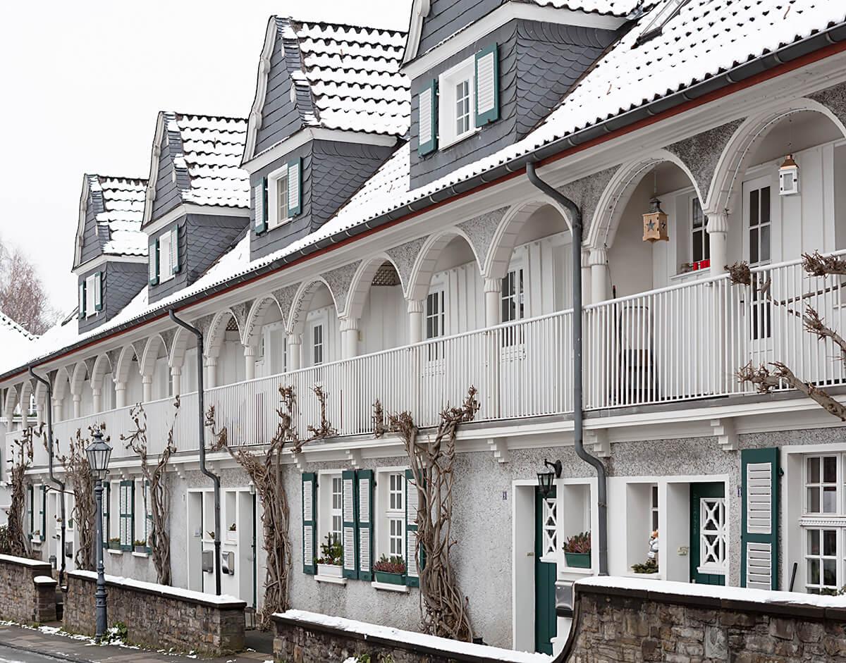 Häuser mit modernster Ausstattung
